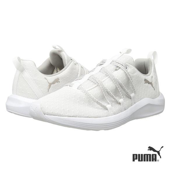 Puma Sneaker low Damen whitemetallic gold Sneaker low